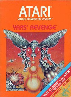 Carátula del juego Yars' Revenge (Atari 2600)