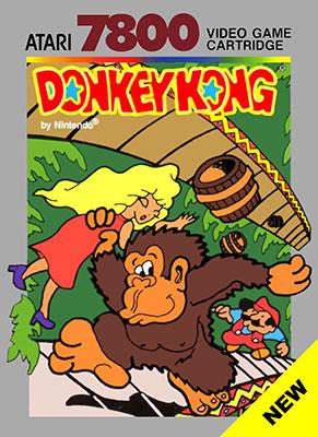 Portada de la descarga de Donkey Kong