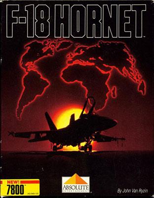 Portada de la descarga de F-18 Hornet