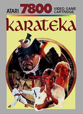 Portada de la descarga de Karateka