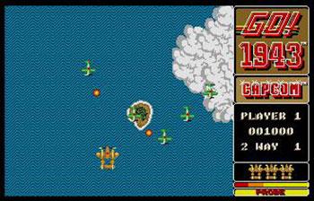 Pantallazo del juego online 1943 - The Battle Of Midway (Atari ST)