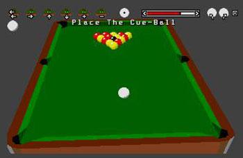 Pantallazo del juego online 3D Pool (Atari ST)