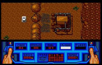 Pantallazo del juego online 5th Gear (Atari ST)