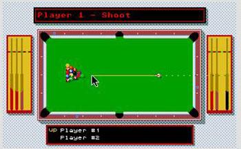 Pantallazo del juego online 8 Ball (Atari ST)