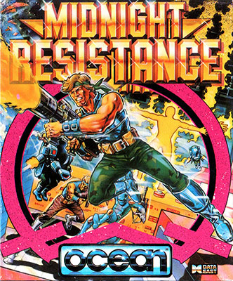 Portada de la descarga de Midnight Resistance