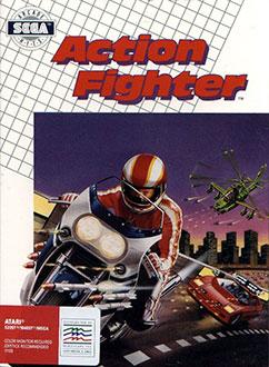 Carátula del juego Action Fighter (Atari ST)