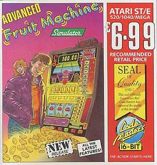 Juego online Advanced Fruit Machine Simulator (Atari ST)