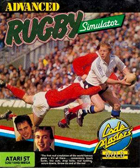 Juego online Advanced Rugby Simulator (Atari ST)