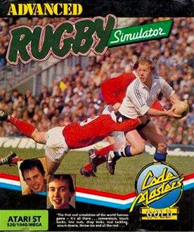Carátula del juego Advanced Rugby Simulator (Atari ST)