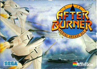 Juego online AfterBurner (Atari ST)