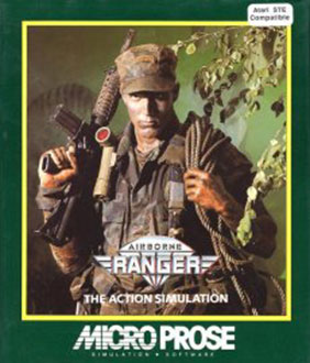 Carátula del juego Airborne Ranger (Atari ST)