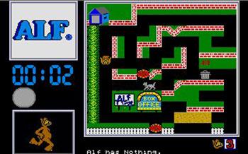 Pantallazo del juego online Alf The First Adventure (Atari ST)