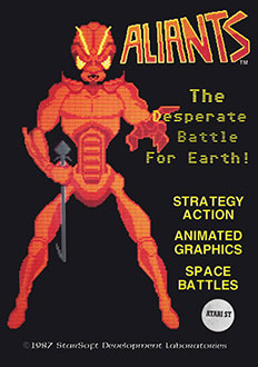 Juego online Aliants: The Desperate Battle For Earth! (Atari ST)