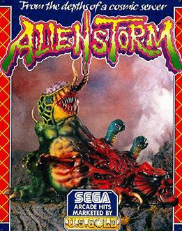 Juego online Alien Storm (Atari ST)