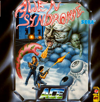 Juego online Alien Syndrome (Atari ST)