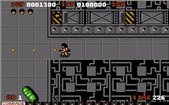 Pantallazo del juego online Alien Syndrome (Atari ST)