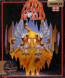 Juego online Alien World (Atari ST)