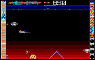 Pantallazo del juego online Andes Attack (Atari ST)