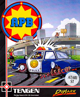 Carátula del juego APB All-Points Bulletin (Atari ST)