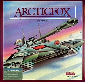 Carátula del juego Arcticfox (Atari ST)