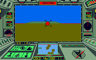 Pantallazo del juego online Arcticfox (Atari ST)