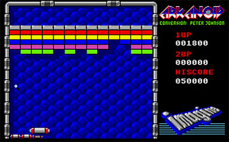 Pantallazo del juego online Arkanoid (Atari ST)