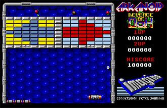 Pantallazo del juego online Arkanoid 2 Revenge of Doh (Atari ST)