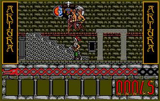 Pantallazo del juego online Artura (Atari ST)