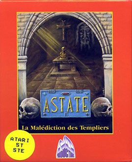 Juego online Astate: Le Malediction des Templiers (Atari ST)