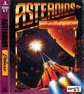 Juego online Asteroids Deluxe (Atari ST)