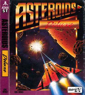 Carátula del juego Asteroids Deluxe (Atari ST)