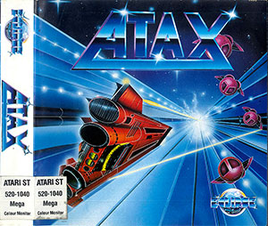 Carátula del juego ATAX (Atari ST)