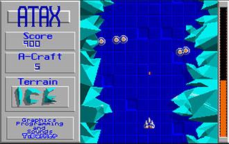 Pantallazo del juego online ATAX (Atari ST)