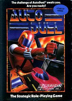 Carátula del juego Auto Duel (Atari ST)