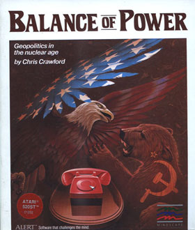 Juego online Balance of Power (Atari ST)