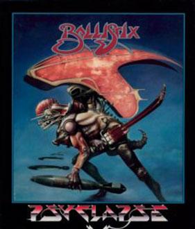 Carátula del juego Ballistix (Atari ST)