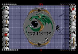 Pantallazo del juego online Ballistix (Atari ST)