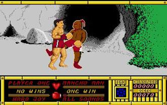 Pantallazo del juego online Bangkok Knights (Atari ST)