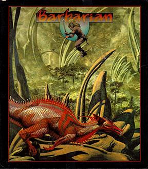 Carátula del juego Barbarian (Atari ST)