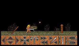 Pantallazo del juego online Barbarian (Atari ST)