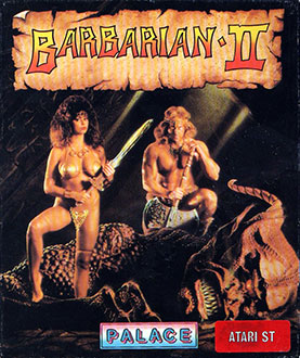 Carátula del juego Barbarian II (Atari ST)