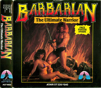 Carátula del juego Barbarian The Ultimate Warrior (Atari ST)