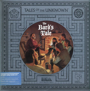 Portada de la descarga de Tales of the Unknown: Volume I – The Bard's Tale