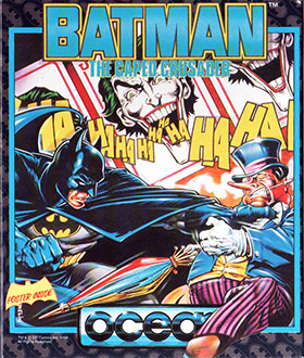 Carátula del juego Batman the Caped Crusade (Atari ST)