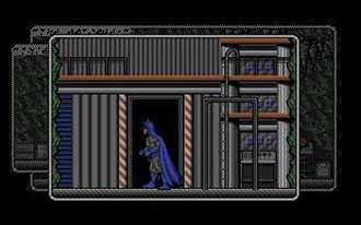 Pantallazo del juego online Batman the Caped Crusade (Atari ST)