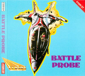 Carátula del juego Battle Probe (Atari ST)