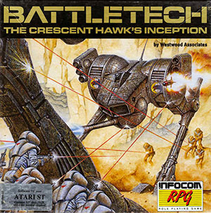 Carátula del juego Battletech The Crescent Hawk's Inception (Atari ST)