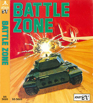 Carátula del juego Battlezone (Atari ST)