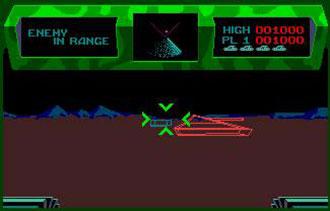 Pantallazo del juego online Battlezone (Atari ST)