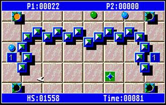 Pantallazo del juego online Beam (Atari ST)